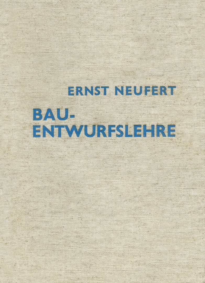 MAN / THE MEASURE OF ALL THINGS Building design: Cover of the original edition, Berlin 1936