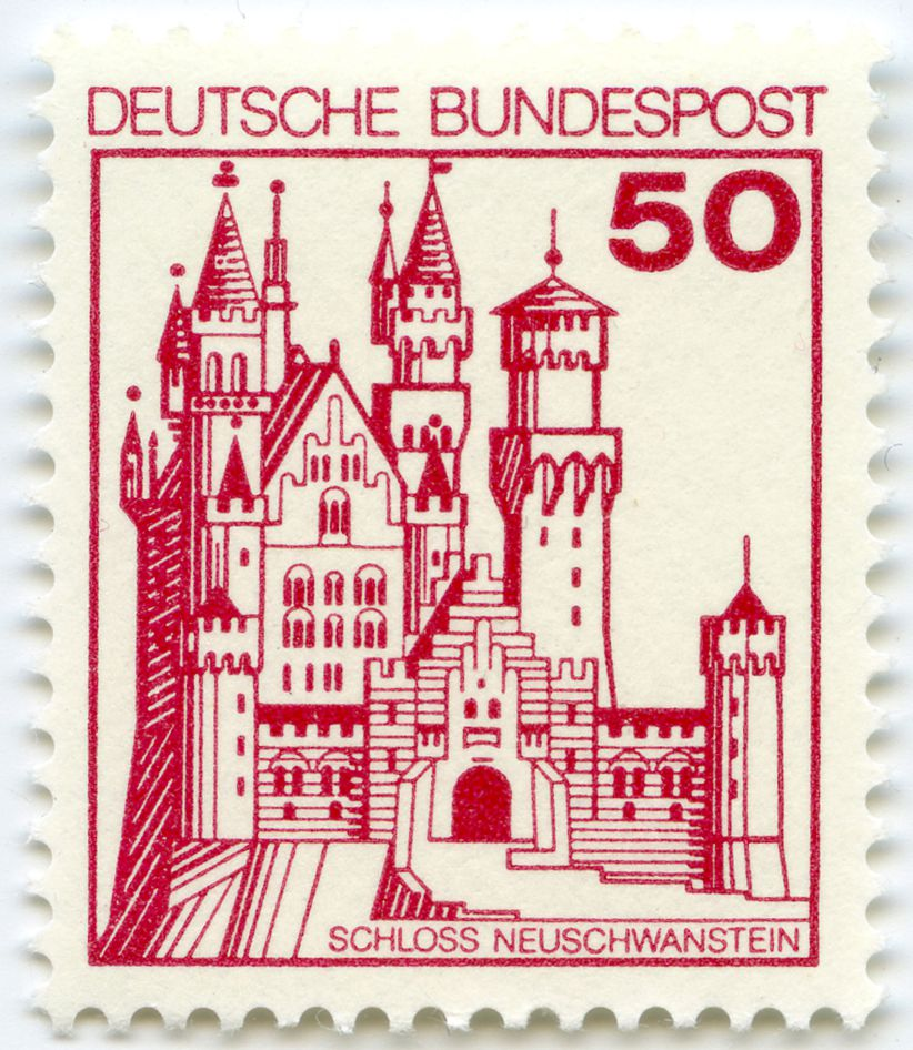 Castle Neuschwanstein Total view