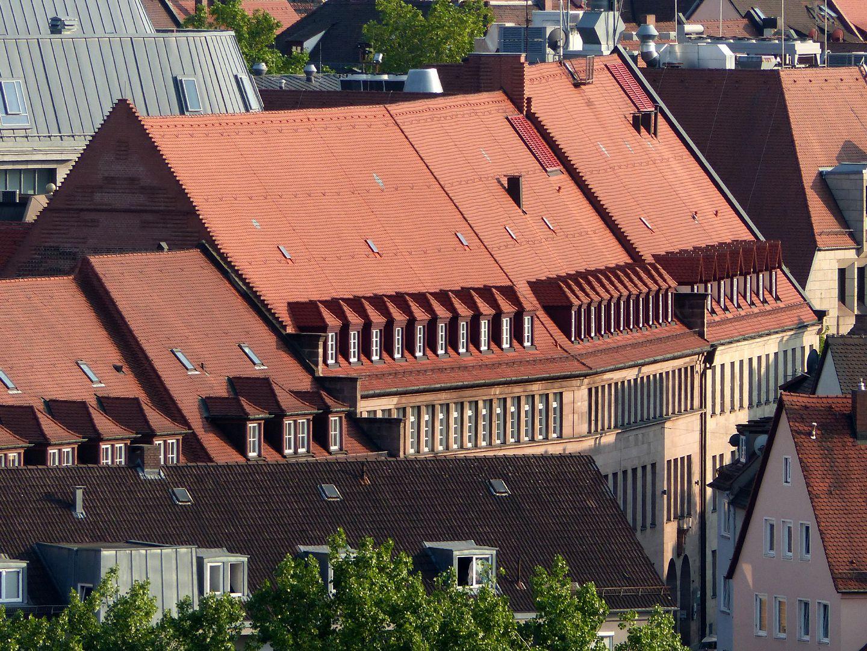 Job Center Dächer von Norden