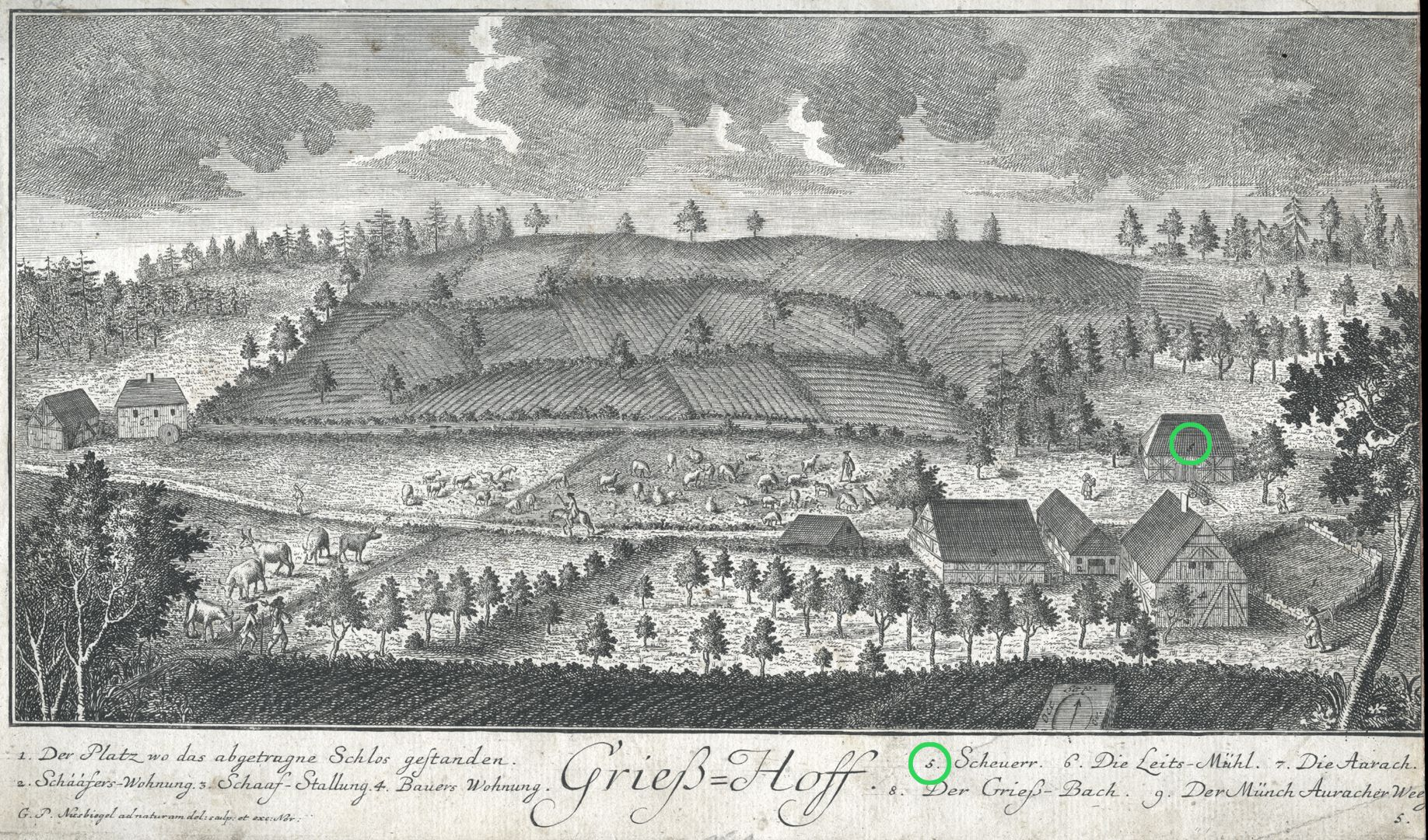 Grieß=Hoff  (Griess farm) Barn