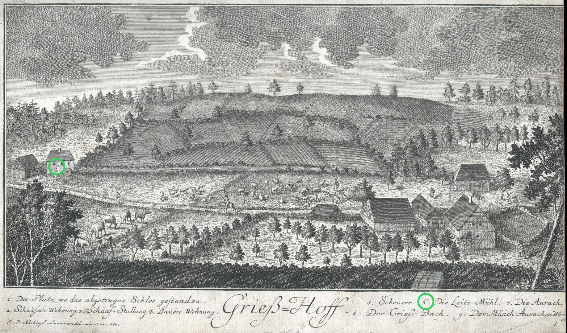Grieß=Hoff  (Griess farm) People´s mill