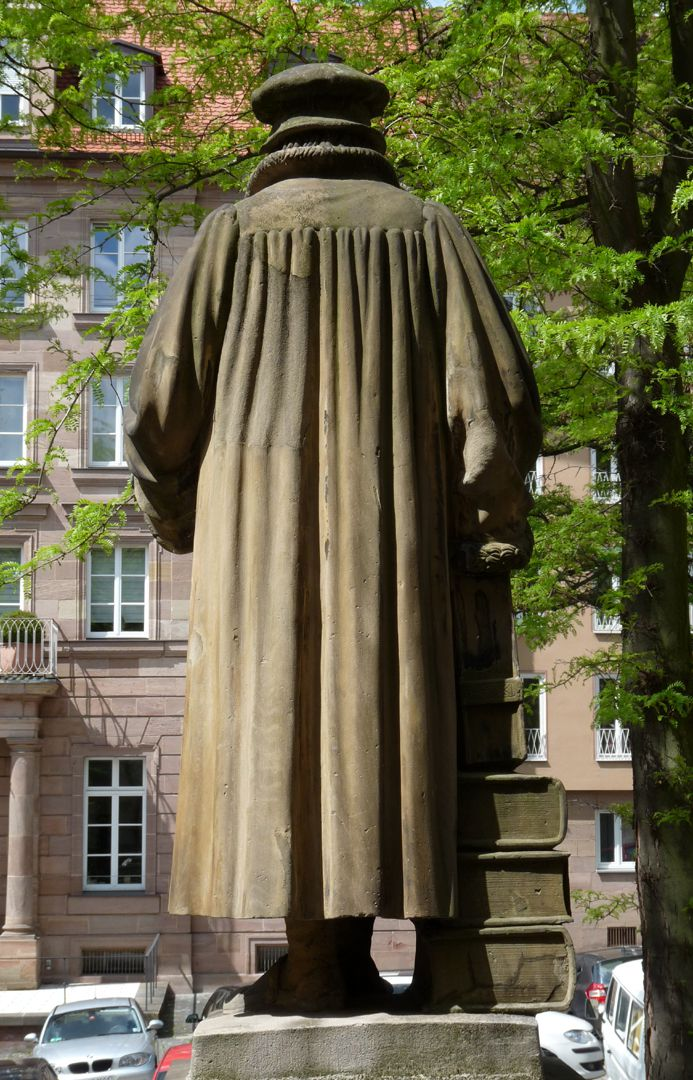 Monument of Philipp Melanchthon View from the back