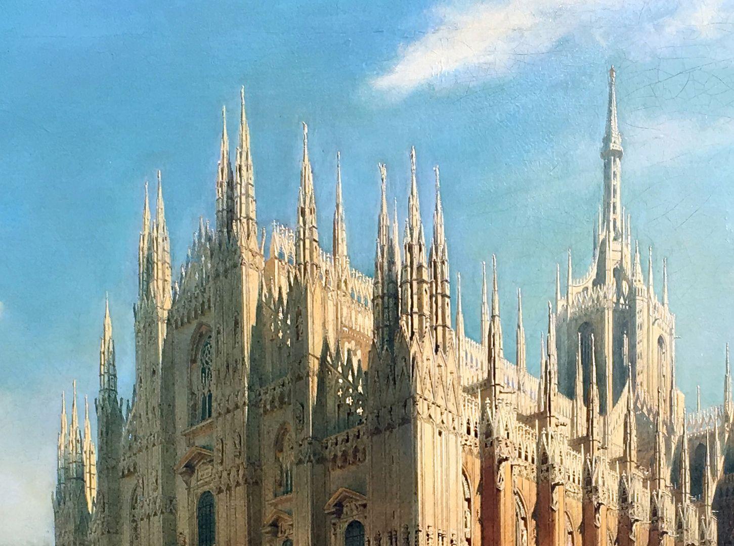 The Milan Cathedral Detail