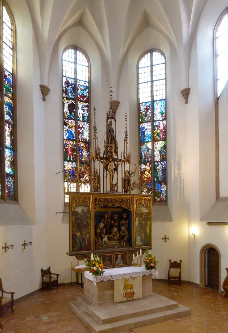 Peringsdörffer Retabel Retabel im Kirchenchor