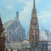 The Beautiful Fountain in Nuremberg
