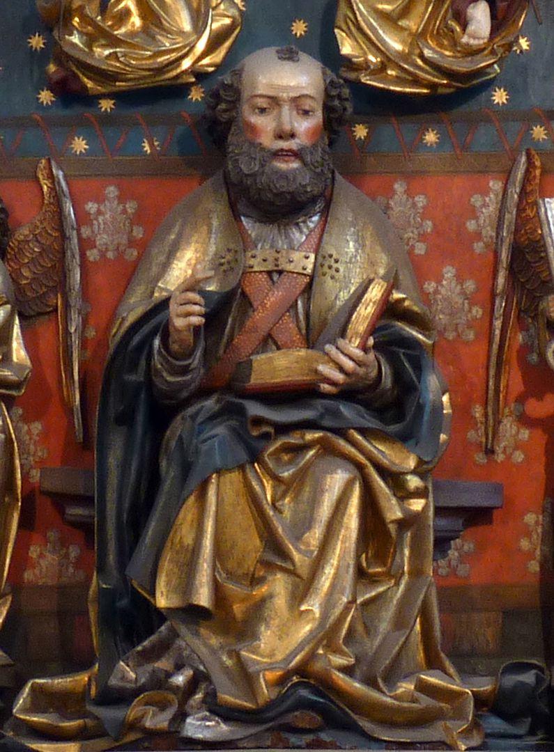 Peter´s Altar Shrine, sitting Peter