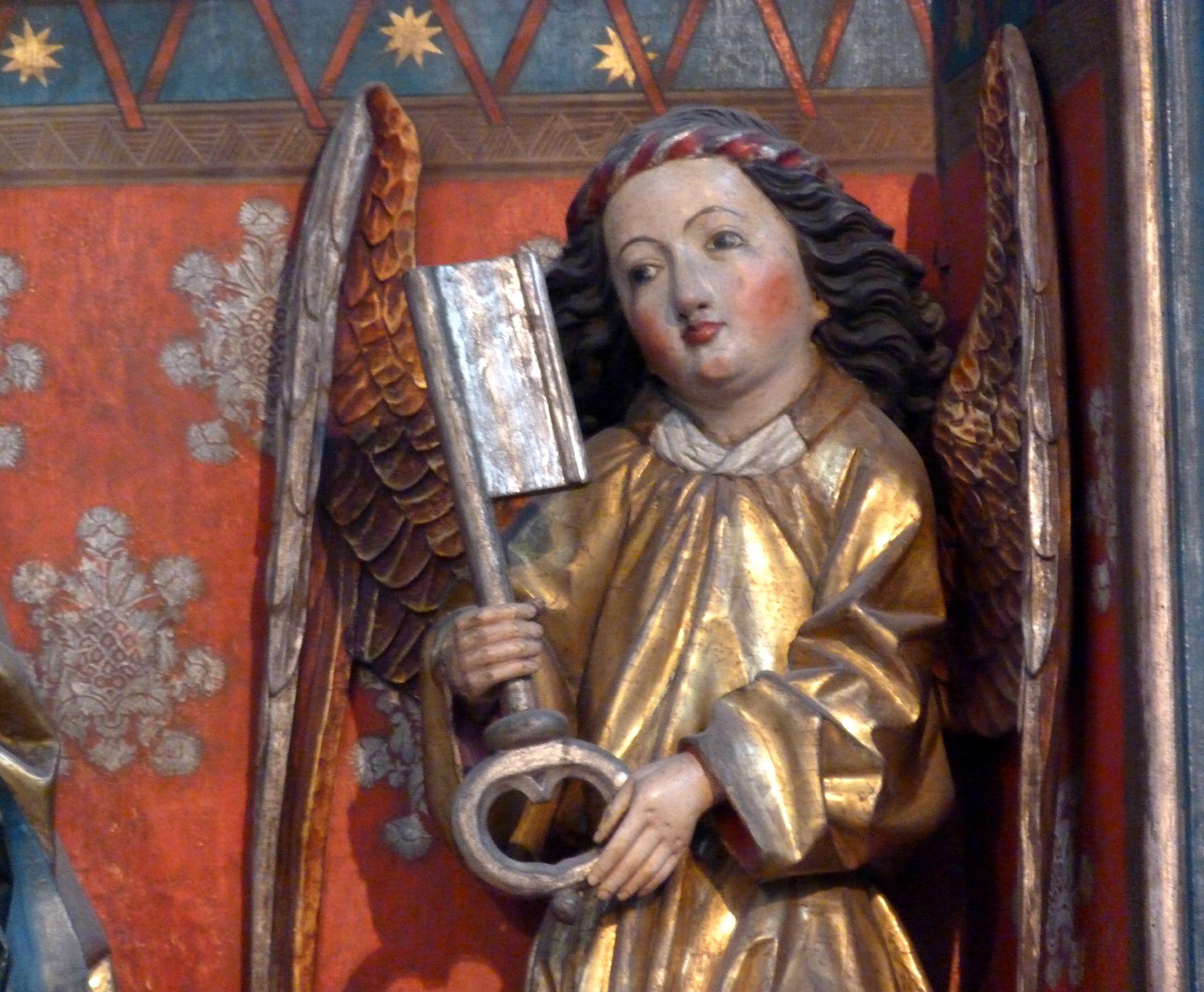 Peter´s Altar Shrine, right key angel