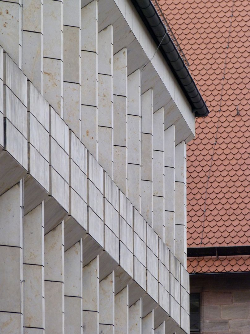 Erweiterungsbau des Polizeipräsidiums Fensterachsen