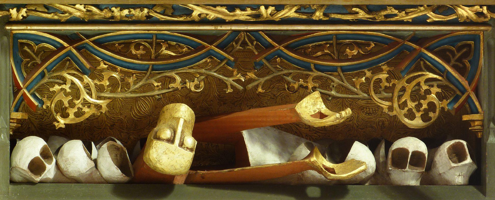"""""""…risen from the dead"""" Predella"""