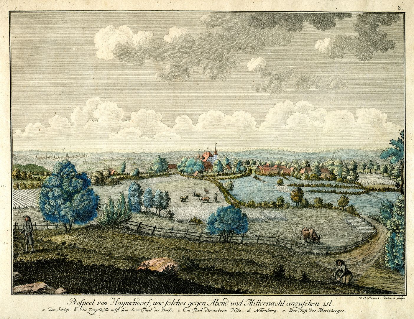 Prospect of Haymendorf General view
