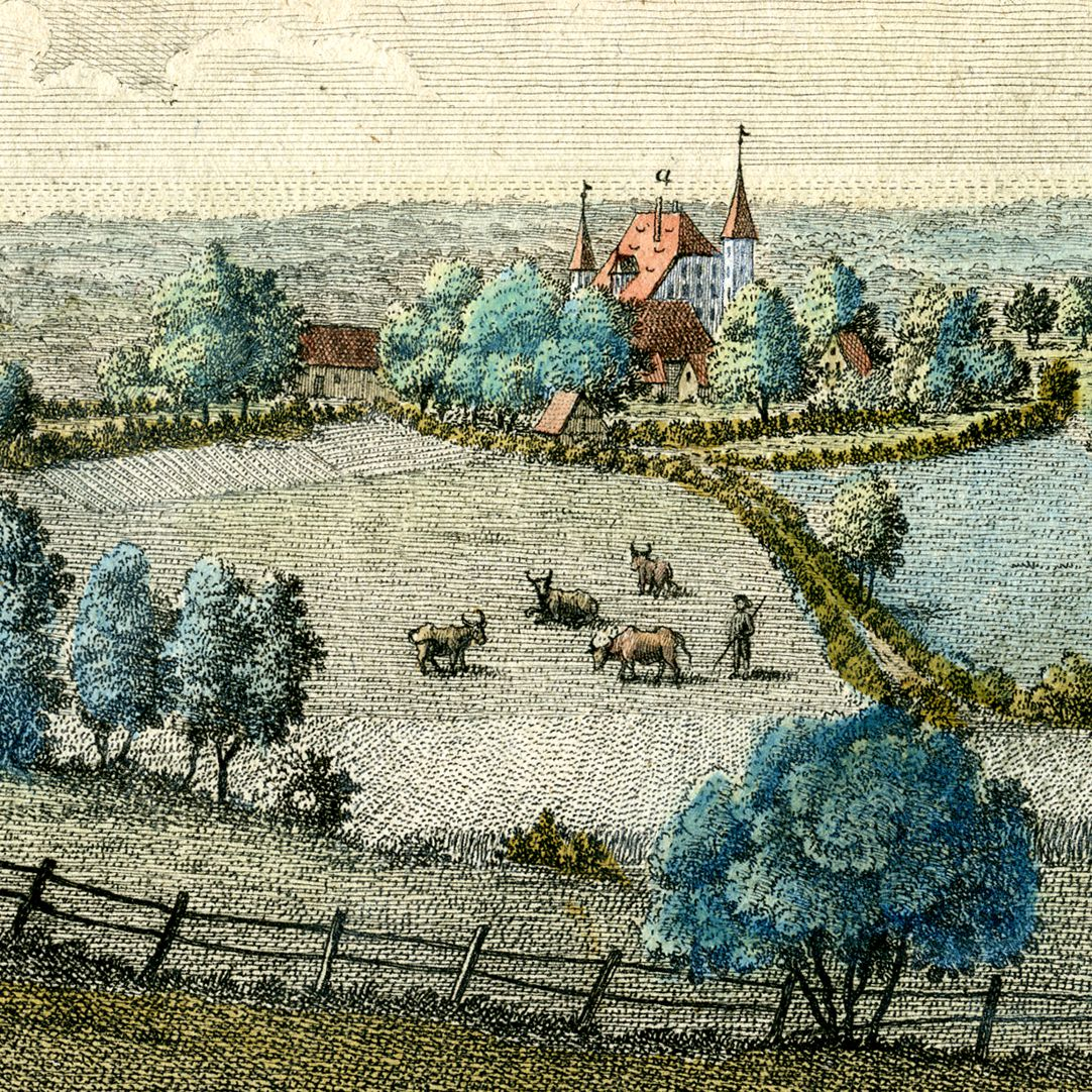 Prospect of Haymendorf Castle