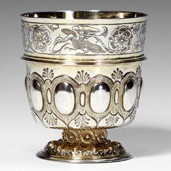 Nuremberg pedestal cup