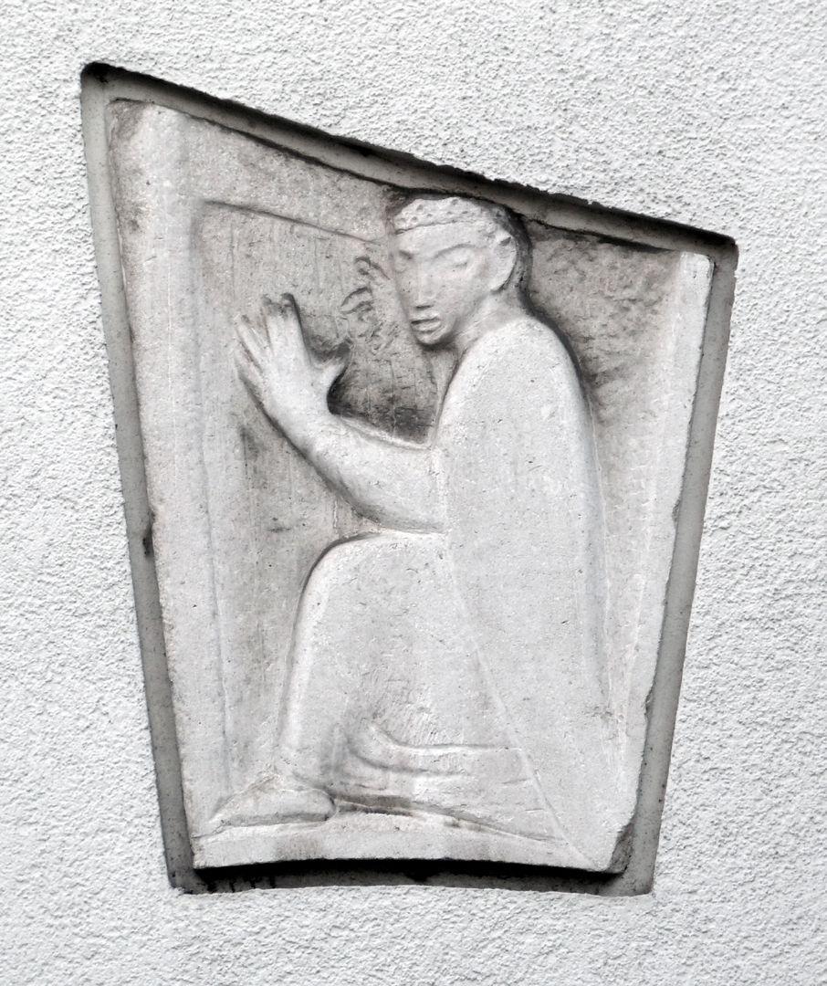 David with the harp
