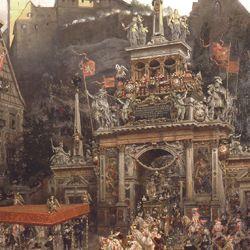 Exodus of Emperor Matthias from Nuremberg 1612