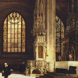 The Sacrament House (Tabernacle) by Adam Kraft in the Lorenzkirche