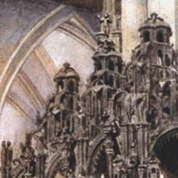 Sebaldus tomb in the east choir