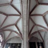 Upper vestry, vault