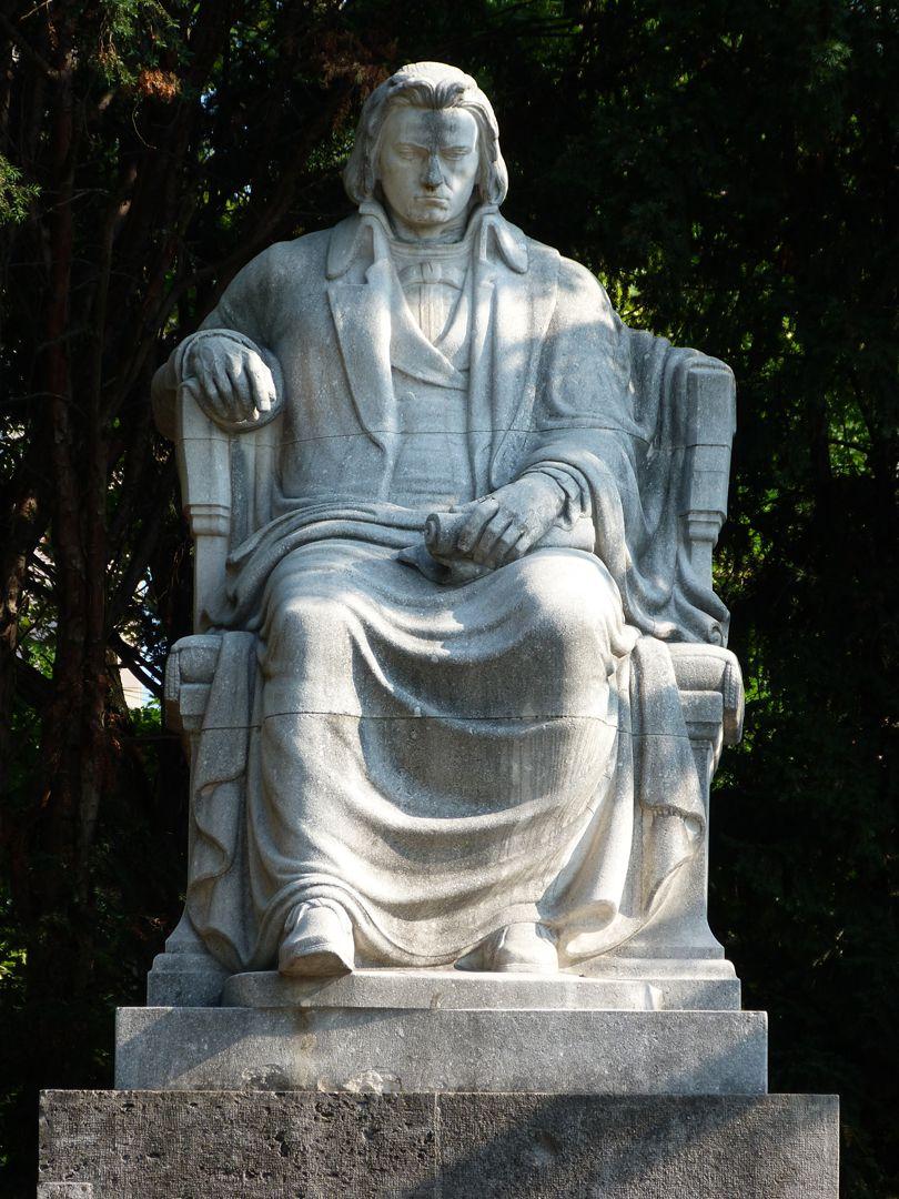 Beethoven Memorial Sitting figure