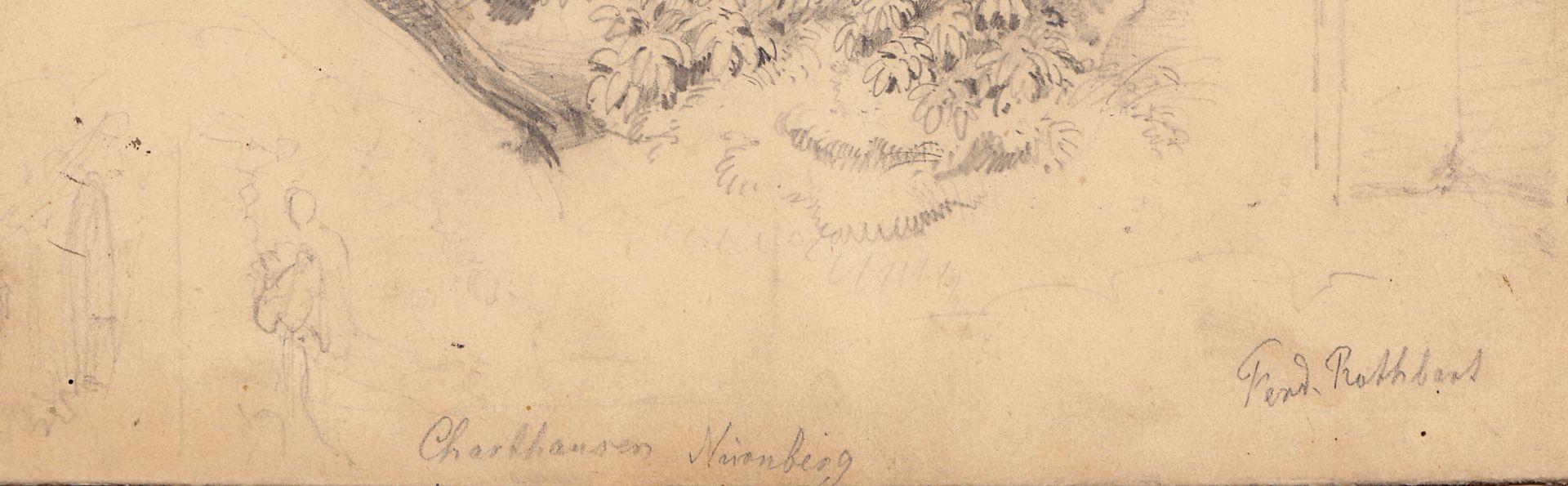 Carthusian Monastery in Nuremberg / Study Figure study and signature