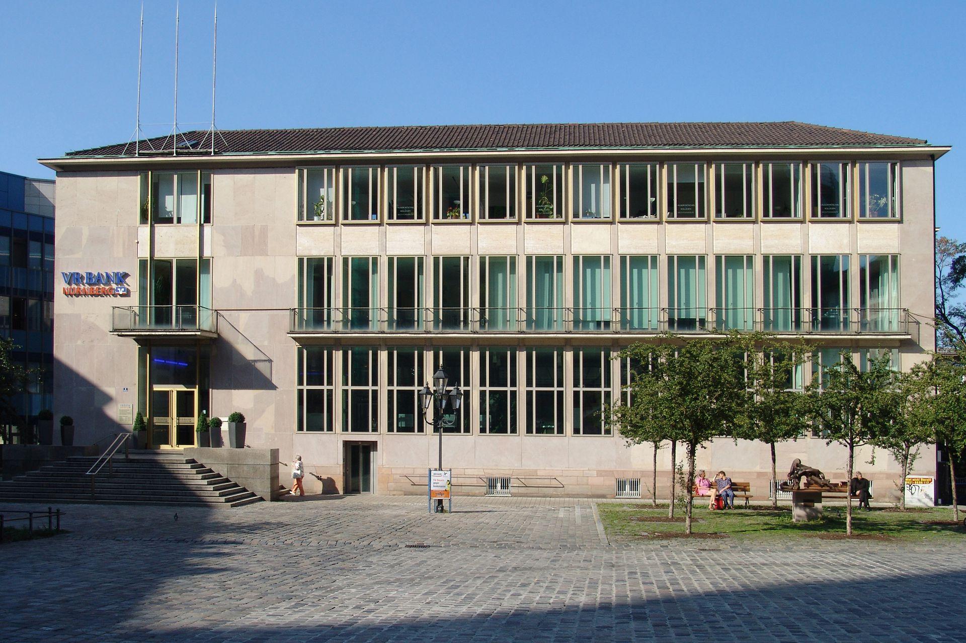 Former Bavarian State Bank Front