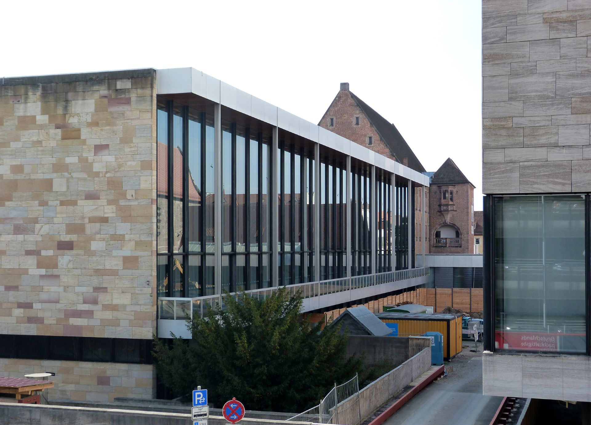 South wing Nürnberg, GNM