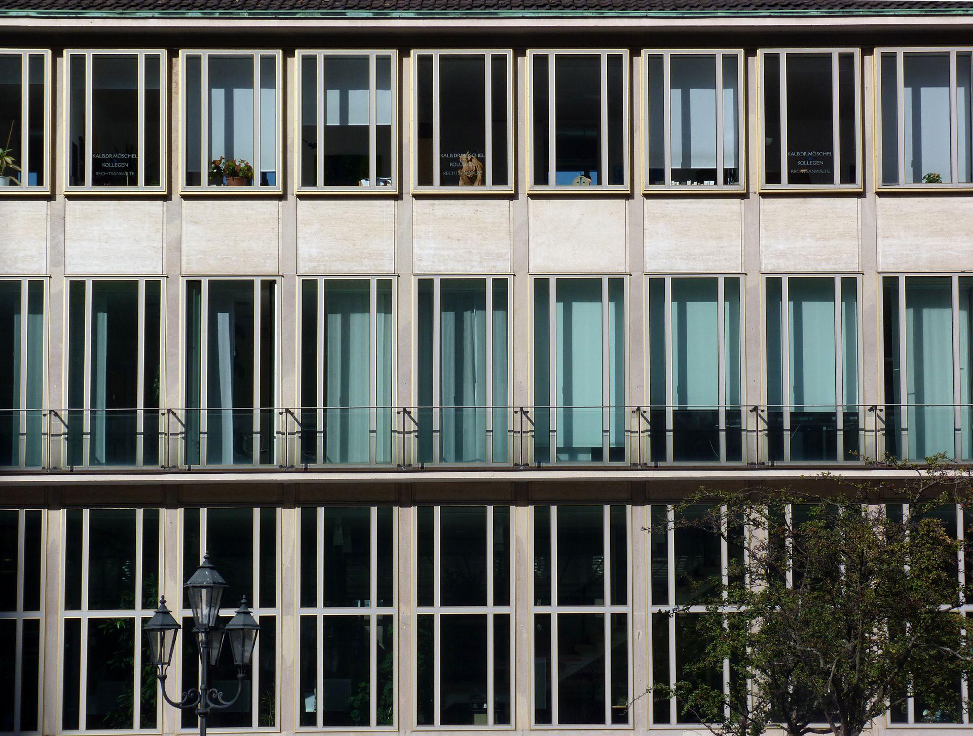 Former Bavarian State Bank Front, detail