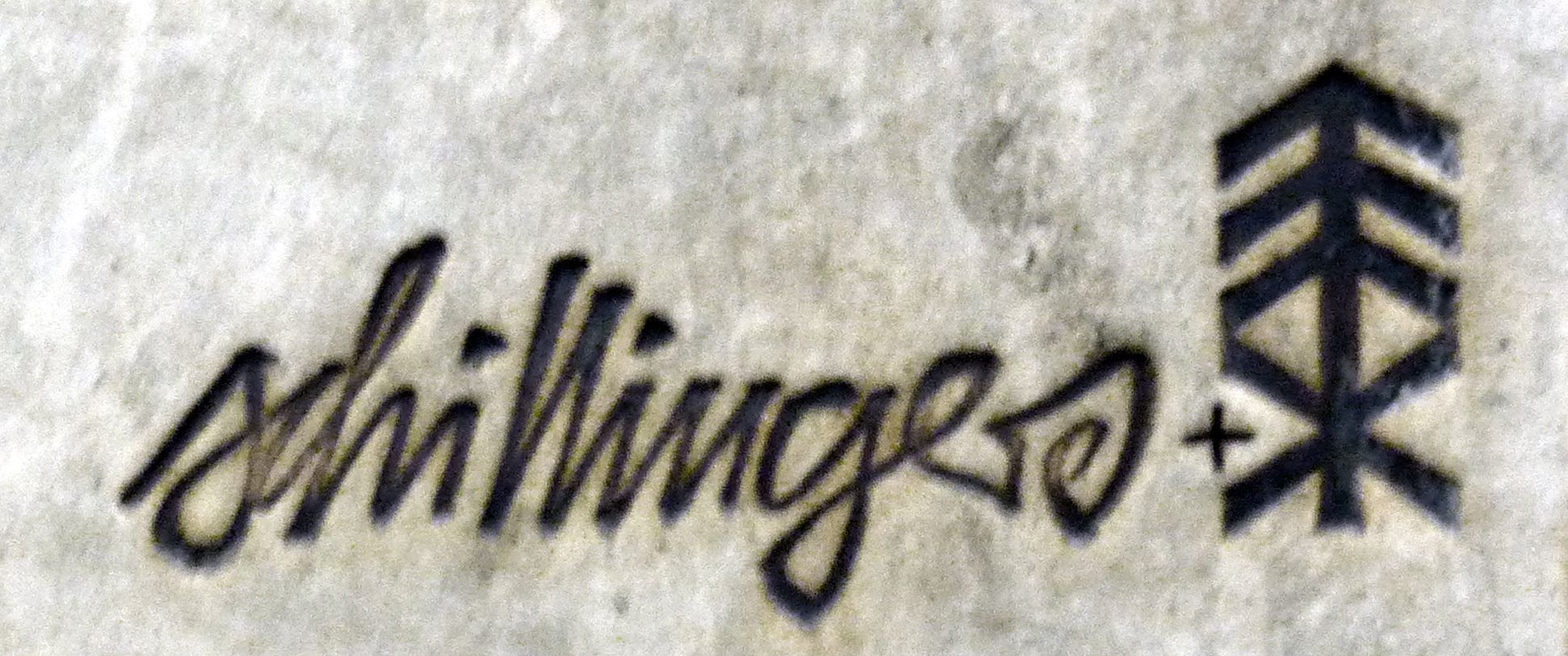 Ceramic relief of the Nuremberg Old City Signature of Heinz Schillinger & Elly & Wilhelm Kuch
