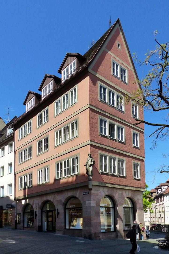 Commercial and residential building Kaiserstraße Nuremberg, Kaiserstraße 38