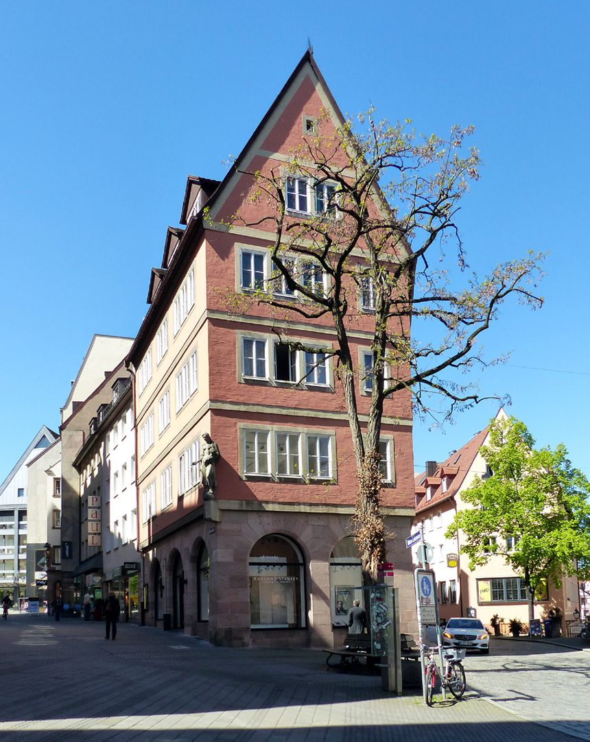Commercial and residential building Kaiserstraße East front