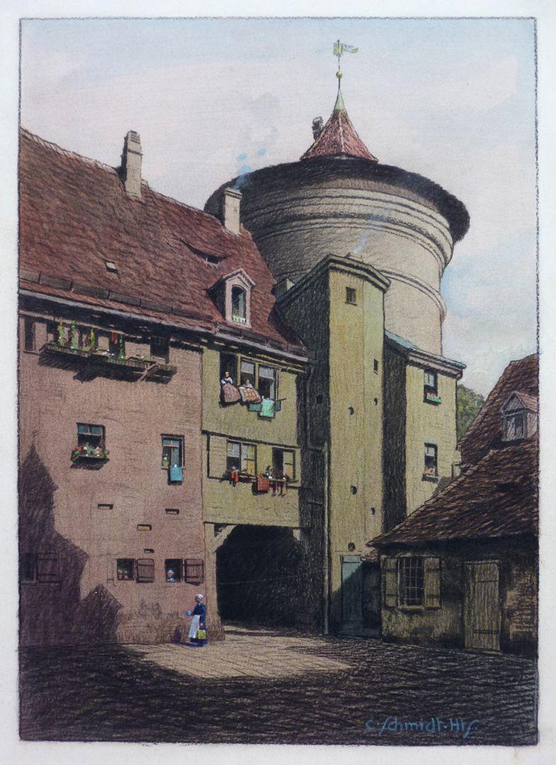 Courtyard, Äußerer Laufer Platz 26 – 32 Courtyard, Äußerer Laufer Platz 26 – 32