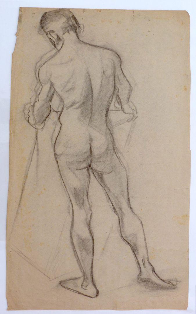 Nude study of a young man Nude study of a young man