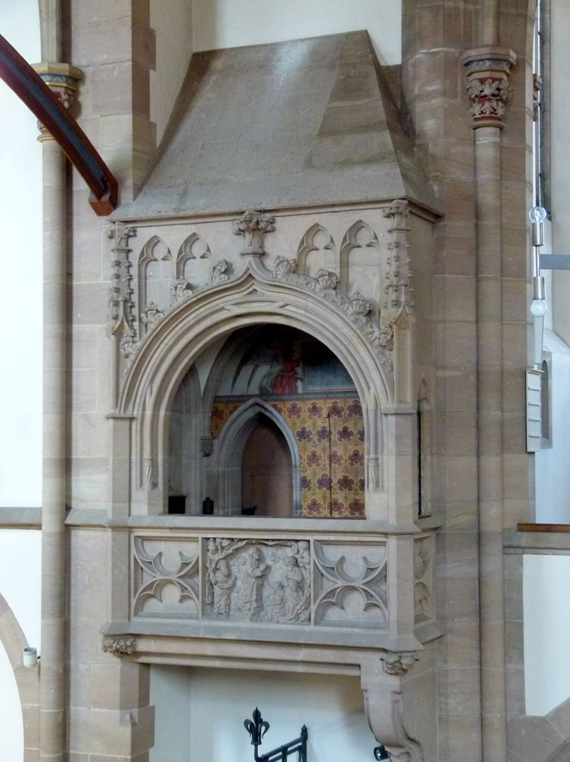 St. Peter Church Choir-like oriel within the choir on the choir north side