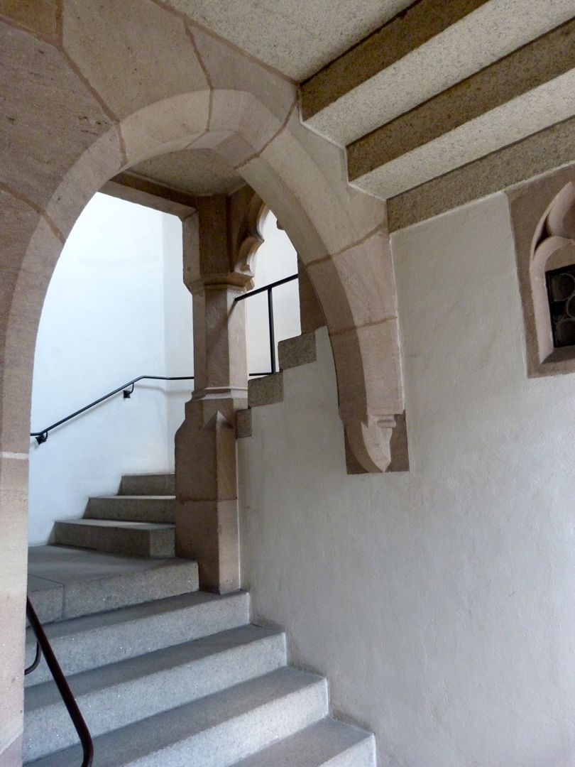 St. Peter Church Staircase to the loft