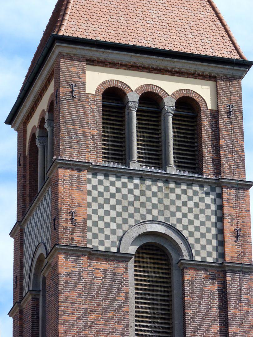 St. Anton Church Detail: Spire