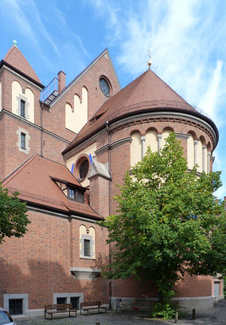St. Anton Church Apsis
