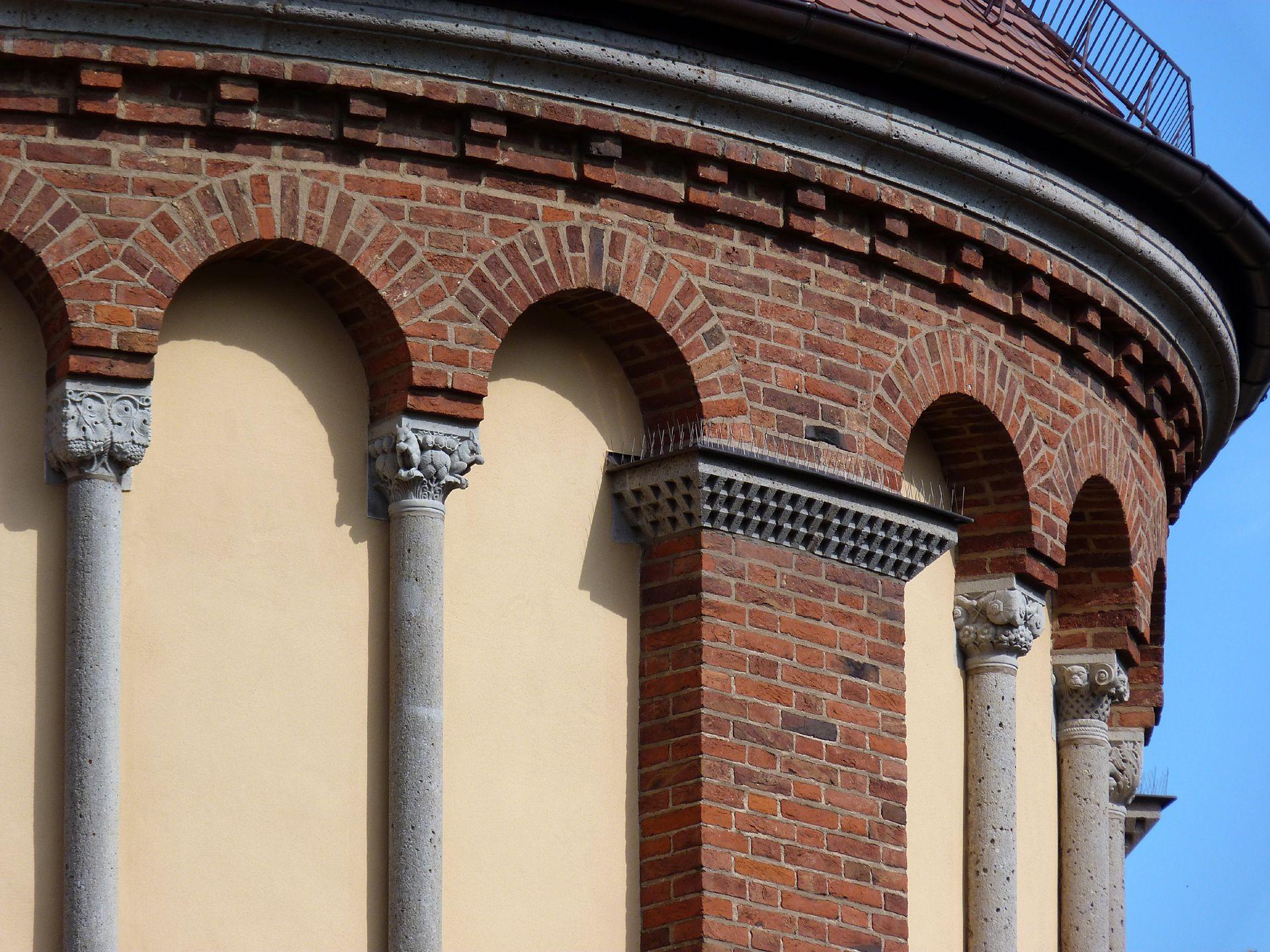 St. Anton Church Apsis, blind arcades
