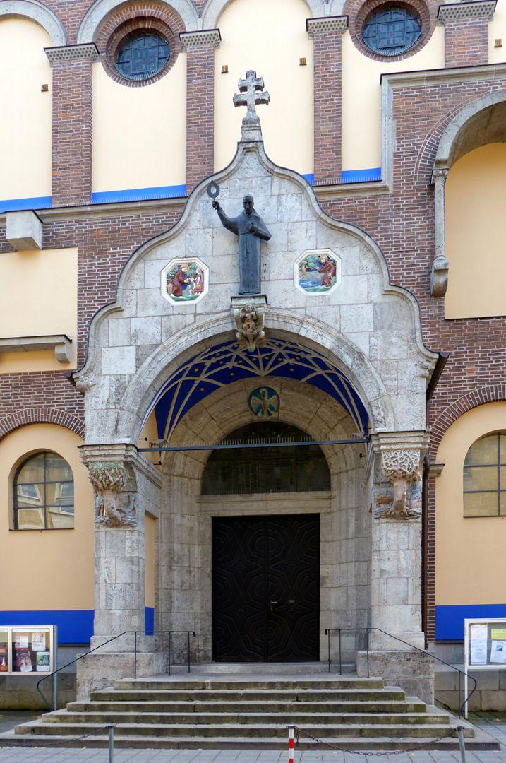 St. Anton Church Entrance hall
