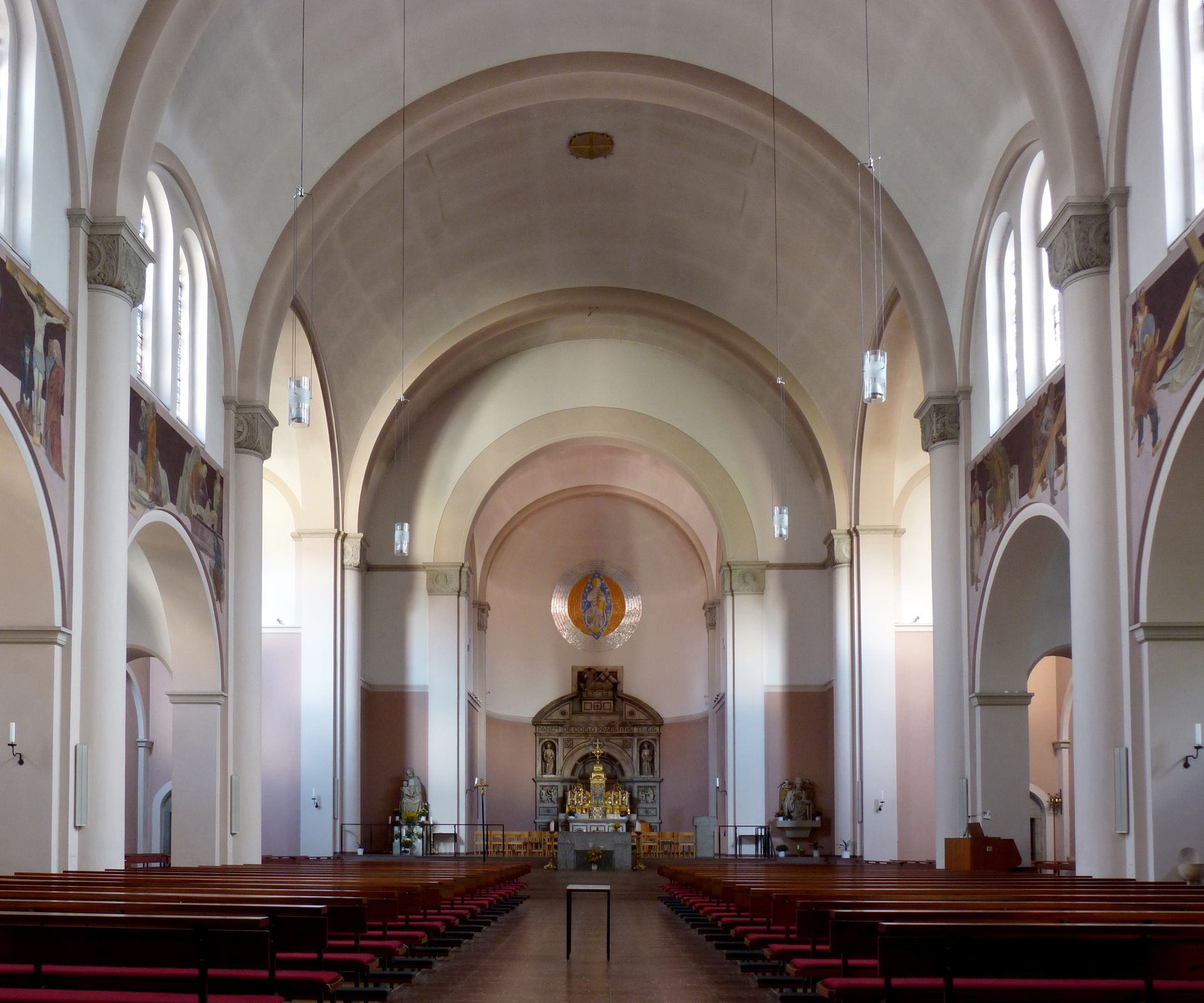 St. Anton Church View to the altar