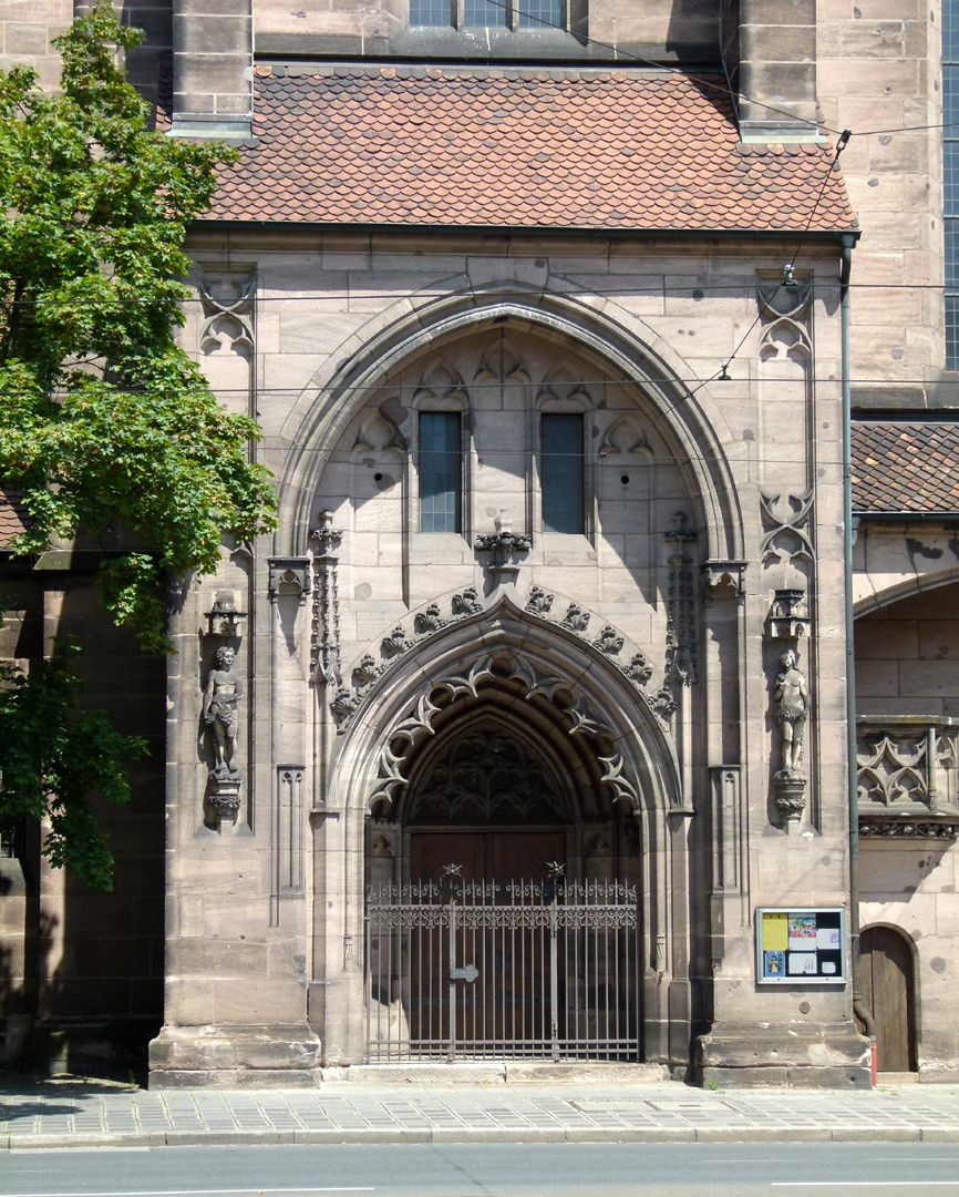 St. Peter Church Lateral view with south portal