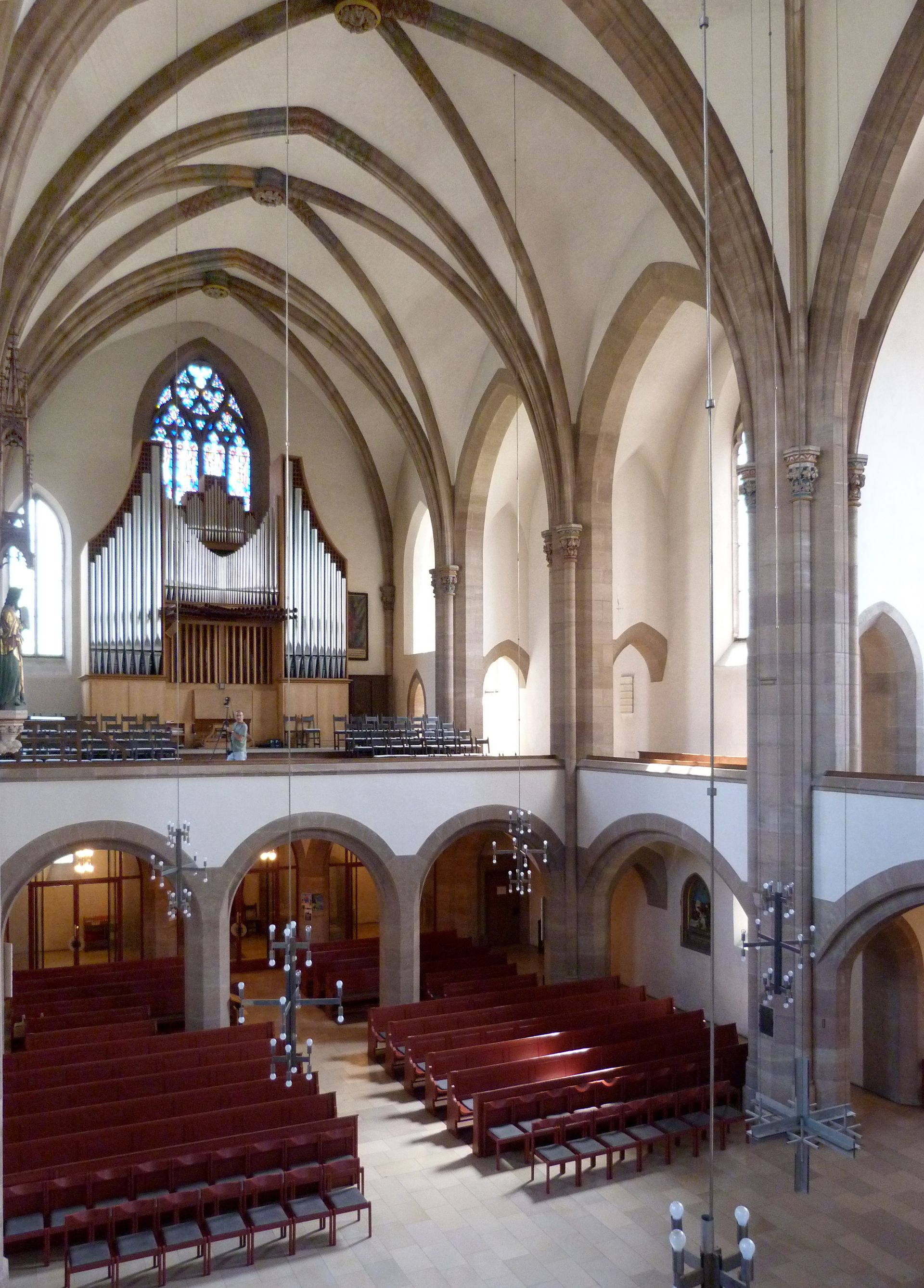 St. Peter Church Interior, diagonal view