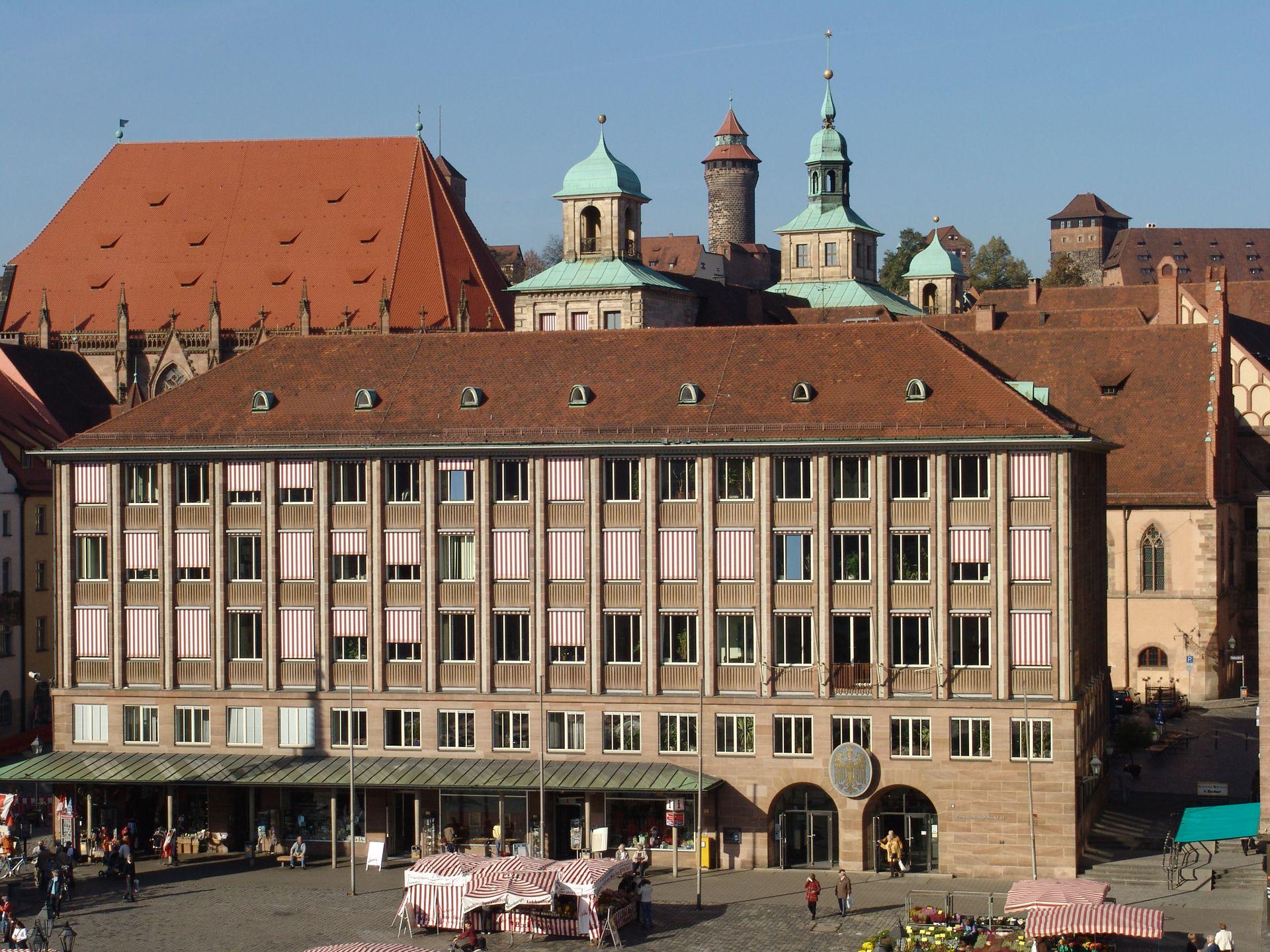New City Hall at Hauptmarkt (Main Market) South front
