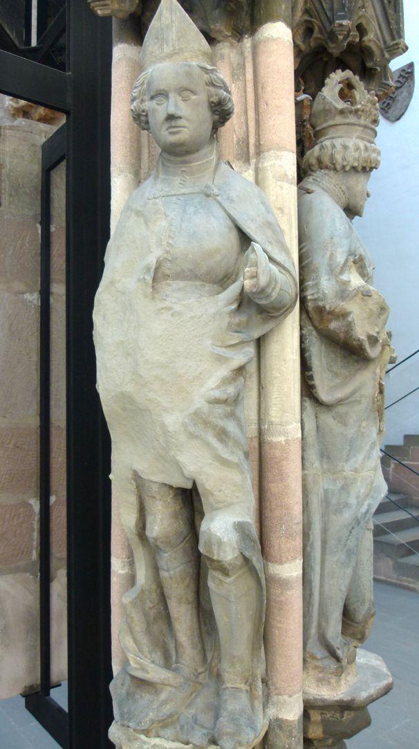 Beautiful fountain Judas Maccabäus