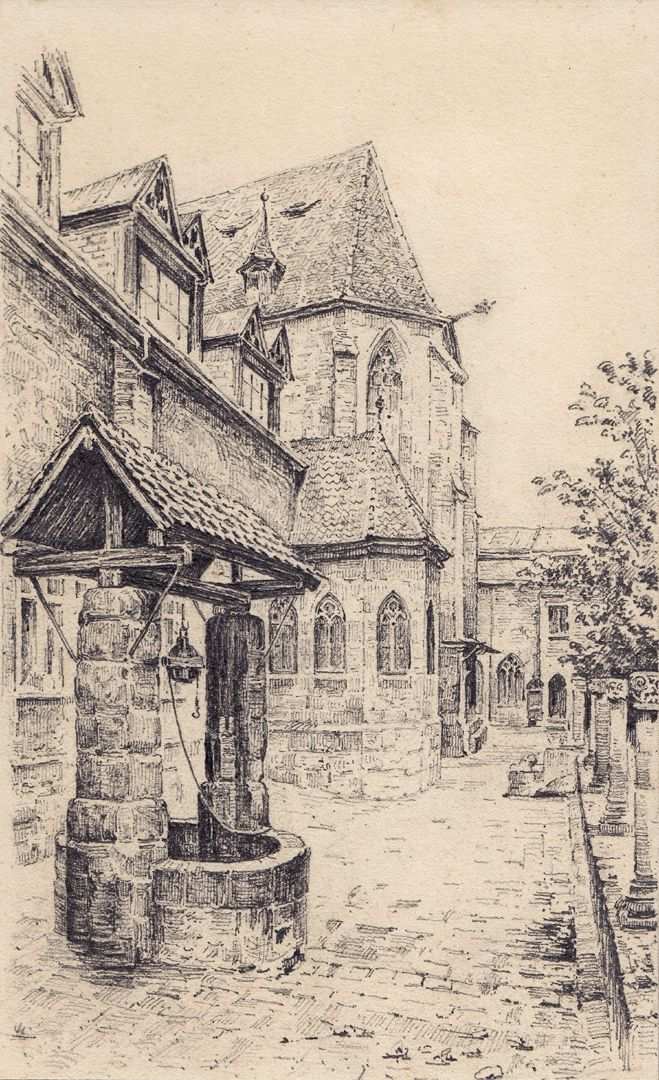 Carthusian Church and Chapel with draw well Carthusian Church and Chapel with draw well