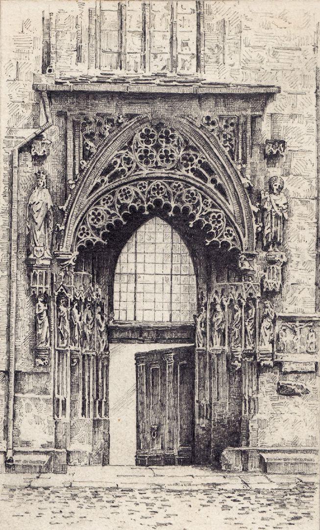 Bridal portal of St. Sebaldus Church Bridal portal of St. Sebaldus Church
