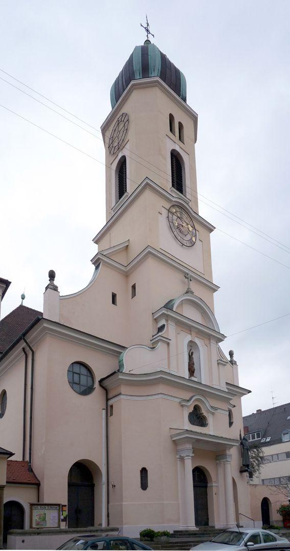 St. Michael Church Front spire