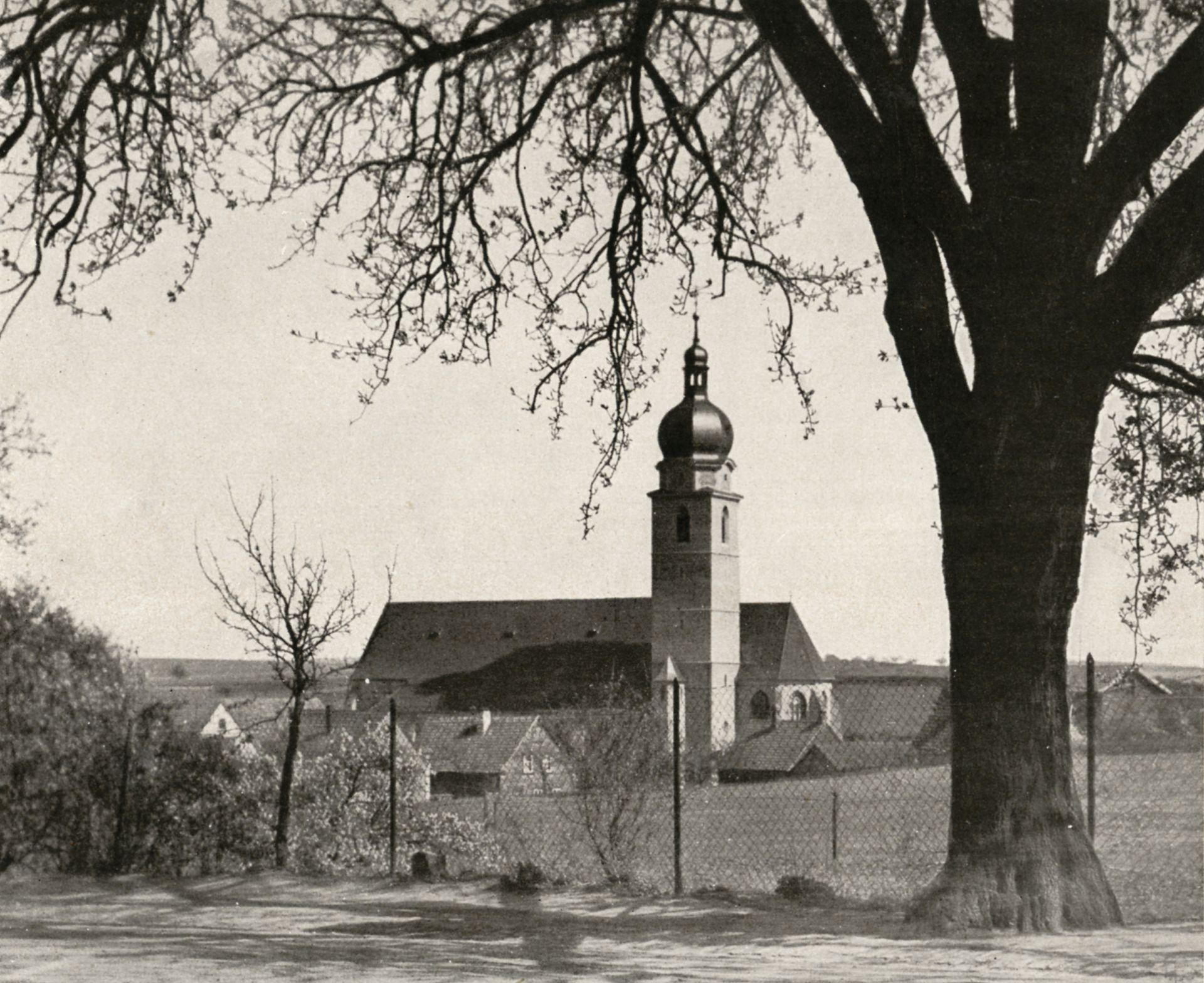 """St. Mauritius St. Mauritius / photo from: """"Otto Schulz"""", Friedrich Ernst Hübsch Verlag, 1929"""