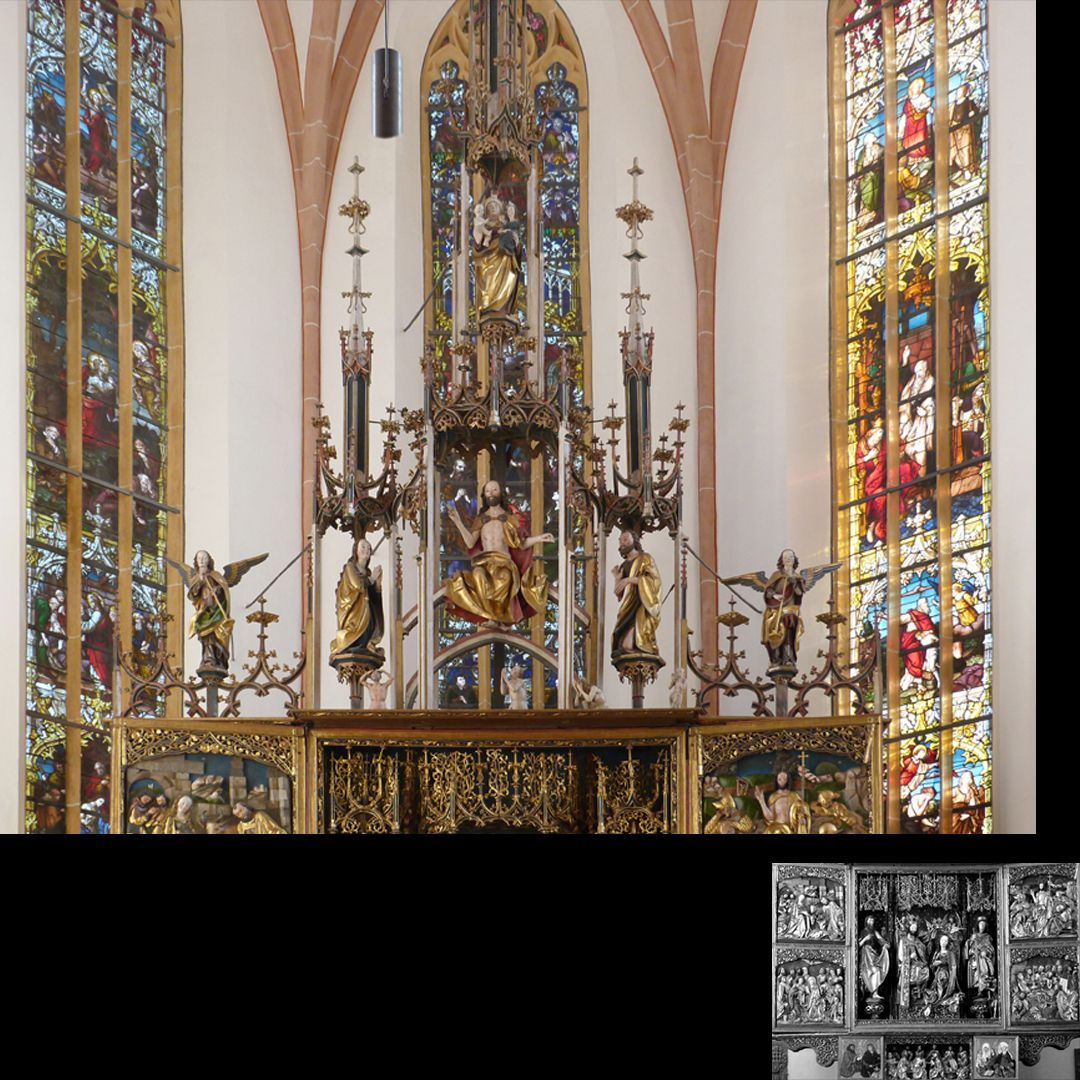 High Altar (Schwabach) Pinnacle decoration