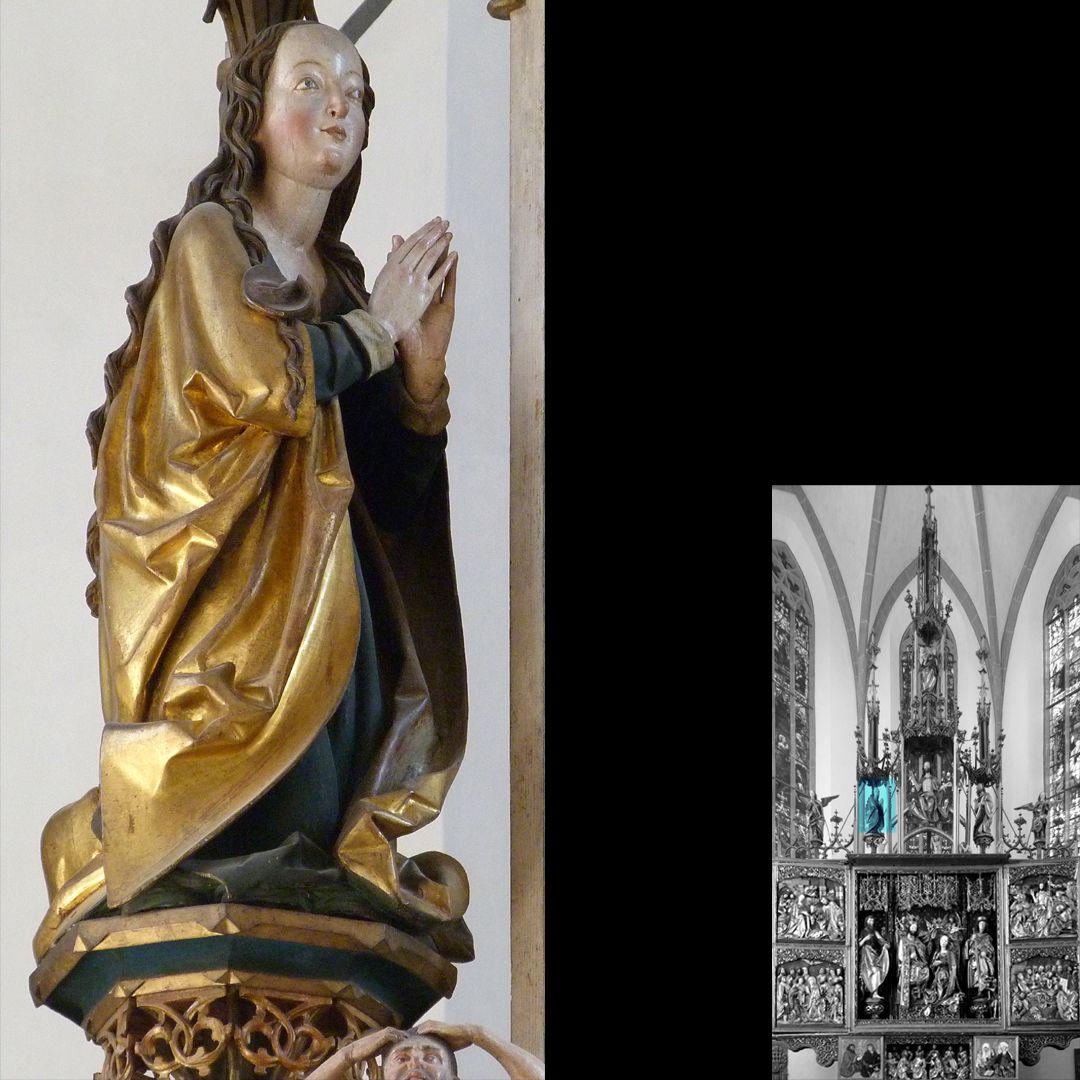 High Altar (Schwabach) Gesprenge, Maria