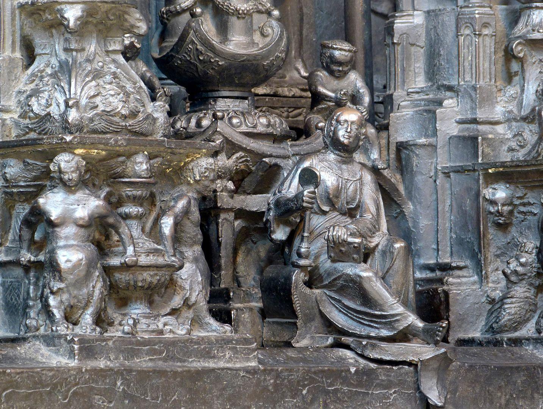 Sebaldusgrab (Nordseite) Die Klugheit