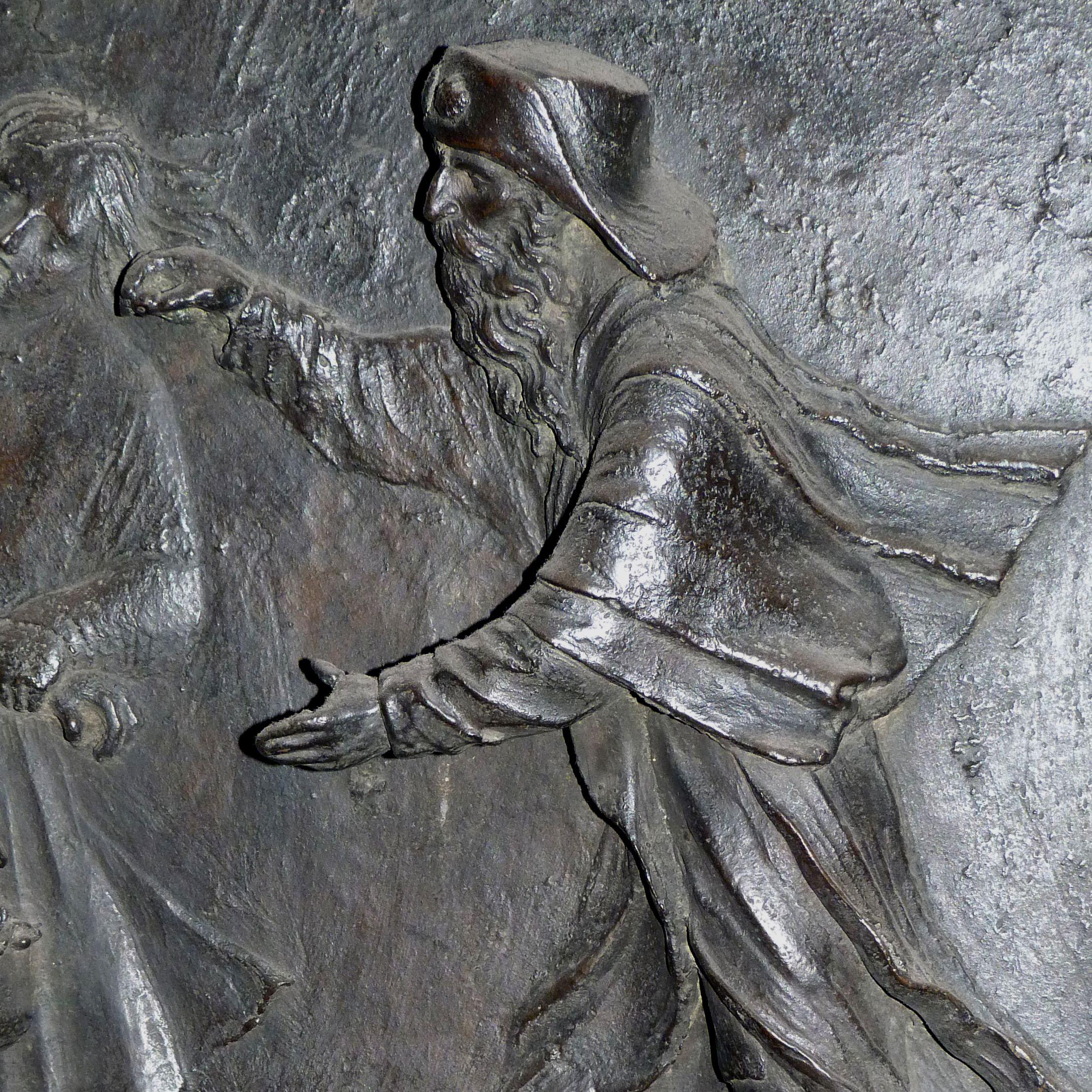 Sebaldusgrab (Nordseite) Sebalduslegedne, Heilung des Blinden, Detail des Sebaldus